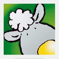 PGM Jean Paul Courtsey - Sheep Kunstdruk 30x30cm