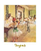 PGM Edgar Degas - La classe de danse Kunstdruk 24x30cm