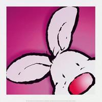 PGM Jean Paul Courtsey - Rabbit Kunstdruk 30x30cm