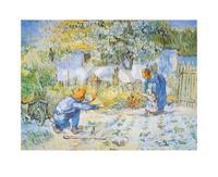 PGM Vincent Van Gogh - Primi Passi Kunstdruk 30x24cm