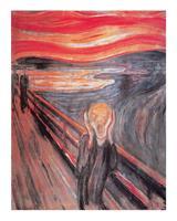 PGM Edvard Munch - The Cry Kunstdruk 40x50cm