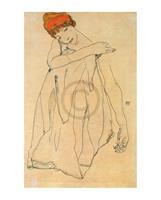 PGM Egon Schiele - Die Tänzerin Kunstdruk 40x50cm
