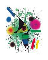 PGM Joan Miro - The singing Fish Kunstdruk 40x50cm
