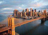 Papermoon Brooklyn Bridge Skyline Vlies Fotobehang 350x260cm