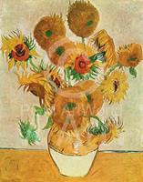 PGM Vincent Van Gogh - Sunflowers Kunstdruk 50x70cm
