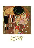 PGM Gustav Klimt - Il bacio Kunstdruk 50x70cm
