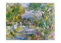 PGM Auguste Renoir - L'Estaque, 1882 Kunstdruk 70x50cm