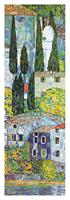 PGM Gustav Klimt - Chiesa a cassone sul garda Kunstdruk 35x100cm
