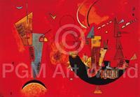 PGM Wassily Kandinsky - Mit und Gegen Kunstdruk 70x50cm