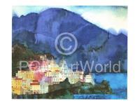PGM Ralf Westphal - Amalfi, Golf von Salerno Kunstdruk 40x30cm