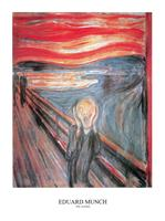 PGM Edvard Munch - The Scream Kunstdruk 50x70cm