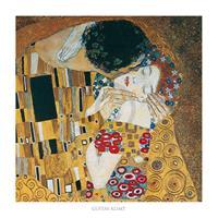 PGM Gustav Klimt - Il bacio Kunstdruk 70x70cm