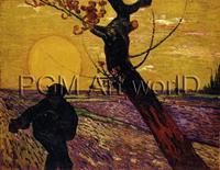 PGM Vincent Van Gogh - Le Sémeur Kunstdruk 80x60cm