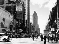 PGM Liby - New York, 42nd Street Kunstdruk 80x60cm