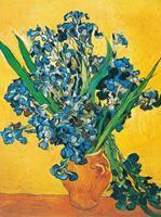 PGM Vincent Van Gogh - Les iris Kunstdruk 60x80cm