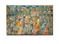 PGM Paul Klee - Quartiere Kunstdruk 80x60cm
