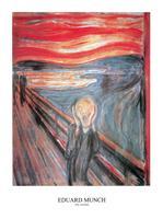PGM Edvard Munch - The Scream Kunstdruk 60x80cm