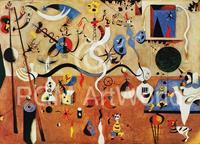 PGM Joan Miro - Il carnevale d'Arlecchino Kunstdruk 80x60cm