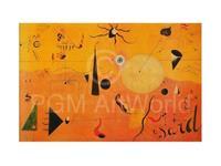PGM Joan Miro - Paysage Catalan Kunstdruk 80x60cm
