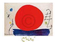 PGM Joan Miro - Senzo titolo, 1967 Kunstdruk 80x60cm
