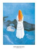 PGM Edvard Munch - Young girl on a Jetty Kunstdruk 60x80cm