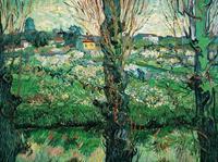 PGM Vincent Van Gogh - Blick auf Arles Kunstdruk 80x60cm