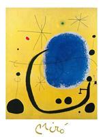 PGM Joan Miro - L'oro dell'Azzurro Kunstdruk 60x80cm