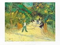 PGM Vincent Van Gogh - Giardini Publici Kunstdruk 80x60cm