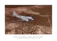 PGM Margaret Bourke-White - Mainline DC-3 over San Francisco Kunstdruk 50x100cm