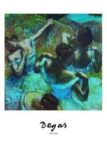 PGM Edgar Degas - Blue Dancers Kunstdruk 60x80cm