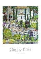 PGM Gustav Klimt - Kirche in Cassone Kunstdruk 70x100cm