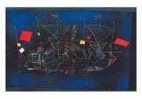PGM Paul Klee - Abenteuerschiff Kunstdruk 100x70cm