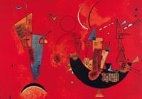 PGM Wassily Kandinsky - Mit und Gegen Kunstdruk 100x70cm