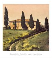 PGM Elisabeth Carmel - Tuscan Farmhouse Kunstdruk 45x50cm