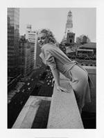 PGM Ed Feingersh - Marilyn Monroe on the Ambassador Kunstdruk 60x80cm
