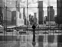 PGM Henri Silberman - Looking at Ground Zero Kunstdruk 80x60cm