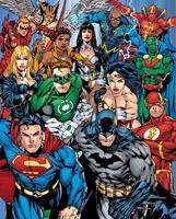 GBeye DC Comics Justice League Collage Poster 40x50cm
