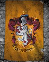 GBeye Harry Potter Gryffindor Flag Poster 40x50cm