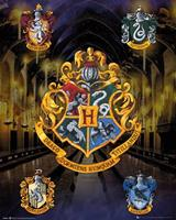 GBeye Harry Potter House Crests Poster 40x50cm
