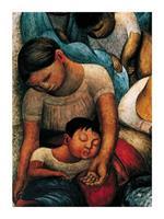 PGM Diego Rivera - La Noche de Los Pobres Kunstdruk 60x80cm