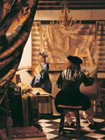 PGM Johannes Vermeer - Die Malkunst Kunstdruk 60x80cm