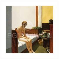 PGM Edward Hopper - Hotel room, 1931 Kunstdruk 70x70cm