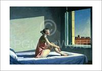 PGM Edward Hopper - Morgensonne, 1952 Kunstdruk 100x70cm