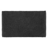differnz Popcorn badmat 50x80cm zwart