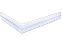 polysan hoekpaneel voor Varesa douchebakken 100x80x11cm rechts
