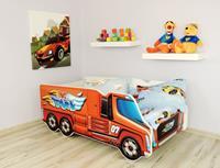 topbeds Peuterbed Top Beds Truck 140x70 Big Inclusief Matras