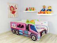 topbeds Peuterbed Top Beds Truck 140x70 Pony Inclusief Matras