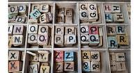 Warentuin over Zee Losse Scrabble letters x10