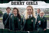 Pyramid Derry Girls Rip Poster 91,5x61cm