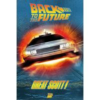 Pyramid Back to the Future Great Scott Poster 61x91,5cm